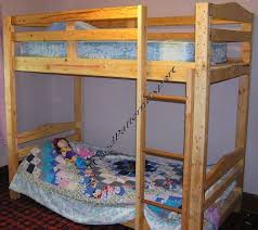 Build A Bunk Bed Bunk Bed Paper Patterns Build King Queen Full Twin Adult Sizes
