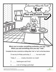 learning about words past tense lesson plan education com
