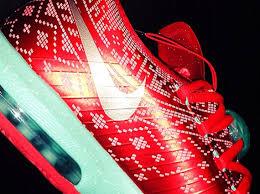 kd 6 christmas nike kd 6 christmas light crimson metallic gold green glow