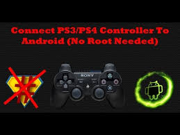 connect ps3 controller to android connect ps3 ps4 controller to android no root needed