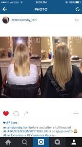 200 best before and after hair extensions by tori leigh images
