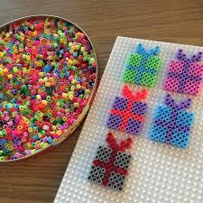 christmas present ornaments hama beads by simony43 christmas and