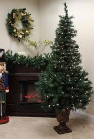 5ft nordic spruce feel real poly pe artificial christmas tree
