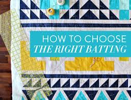 how to choose the right quilt batting suzy quilts