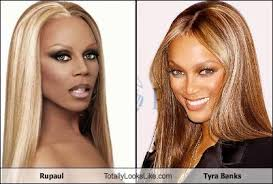 Tyra Banks Meme - rupaul totally looks like tyra banks cheezburger funny memes