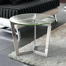 bout de canapé design table bout de canape en verre design socialfuzz me