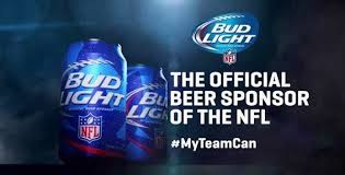bud light beer can football branded beer cans bud light beer cans