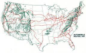 american map usa american map usa road atlas auto roads 1907 thempfa org