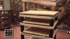 Wood Audio Rack Hi Fi Racks Youtube