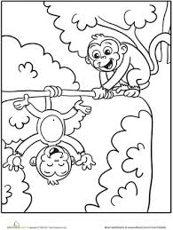 printable monkey coloring pages 345 best coloring pages images on pinterest drawings coloring