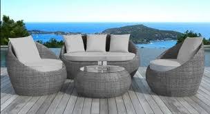 canapé de jardin design salon de jardin design aménagement décoration par delorm design