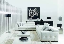 White Leather Living Room Ideas by Living Room Cute Image Of Living Room Decorating Design Ideas