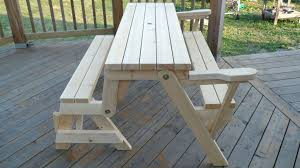 picnic table bench plans folding picnic table bench folding picnic table into bench plans