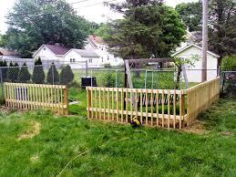 decorative garden fence wood jbeedesigns outdoor decorative