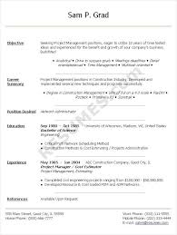 Sample Cto Resume by Example Cio Cv Corpedo Com