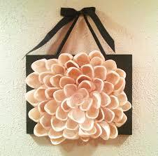 com buy r069 lotus flower mirror wall sticker home decor art seashell wall decor lotus flower wall art