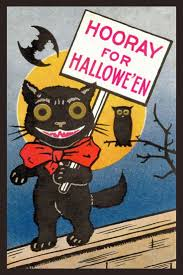1098 best vintage postcards halloween images on pinterest