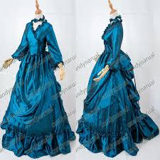 victorian bustle period dress ball gown theatre quality halloween