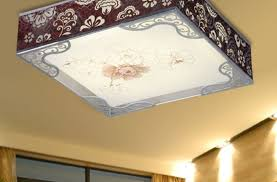 Cover Fluorescent Ceiling Lights Shocking Kitchen Fluorescent Ceiling Lights Tags Flush Mount