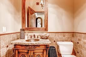 Red Powder Room Bathrooms Workman Builders Inc