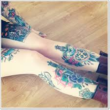 leg tattoos and designs page 41