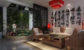 endearing red asian interior design style for chinese new year