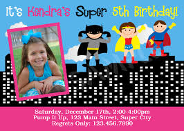 Superhero Invitation Card Superhero Birthday Party Invitations Marialonghi Com