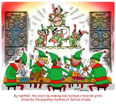 crotchety comics santa u0027s elvises