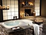 Wallpapers Backgrounds - Equipment Bathroom Stone Bathtub Design Home Decorating Designs (bathtubs main equipment bathroom stone design Home Decorating Designs monroestbistro 1024x775)