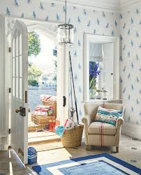 Country House Collection Curtains Ahoy Seaspray Wallpaper Laura Ashley Wallpaper And Living Rooms