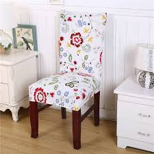 chair covering stretched flower contracted modern chair cover covering slipcover