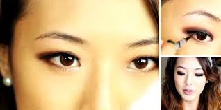 tutorial make up mata sipit ala korea tutorial smokey eyes cokelat natural sederhana vemale com