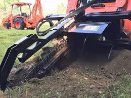 mini excavator trencher premier