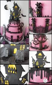 Halloween Fairy Cakes by Best 20 Haunted House Cake Ideas On Pinterest Halloween Cakes