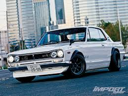 nissan skyline on sale top 5 old chassis import tuner magazine