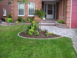 Front Entrance Landscaping Ideas Garden Design Garden Design With Increase Your Curb Appeal With