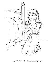 prayer time coloring sheet bible coloring pages pinterest