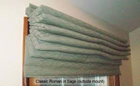 Classic Roman Shades - functional art thermal insulated window treatments classic roman