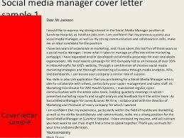 Social Media Resume Sample by Social Media Cover Letter Hepteam Social Media Savvy Cover Letter