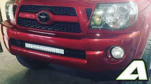 tacoma grill light bar toyota tacoma light bar bumper brackets 2005 2015 2nd generation