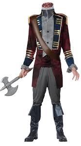 scary costume sleepy hollow headless horseman costume men s scary costume