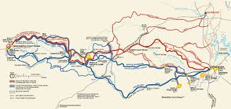 Northern Virginia Map by The General Robert E Lee U0027s Retreat Driving Tour Petersburg To