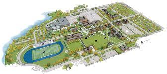 Iowa State Campus Map Campus Map Buena Vista University