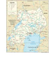 Pdf Maps Uganda Maps Perry Castañeda Map Collection Ut Library Online