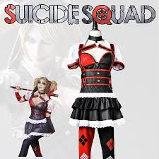 Harley Quinn Halloween Costume Shop Batman Arkham Harley Quinn Costumes Squad