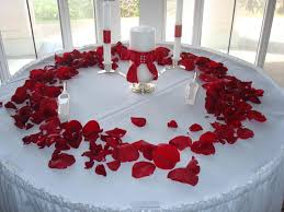 dashing table decoration ideas red then wedding table decoration