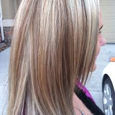 blonde hair with mocha lowlights added light mocha carmel low lights to her beautiful blonde jen