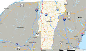 Vt Map U S Route 7 In Vermont Wikipedia