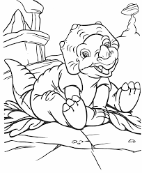 free printable dinosaurs coloring pages for kids animal place