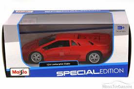 lamborghini diecast model cars lamborghini diablo top maisto 31903r 1 24 scale
